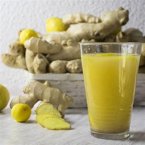 Découyvrez les bienfaits du jus de gingembre